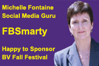 Michelle Fontaine of FBSmarty - Facebook and Web for Business - Sponsors the Blackstone Valley Fall Festival